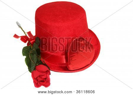 Red Rose Candy & Top Hat