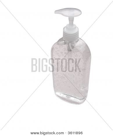 Dispensing Bottle With Bubbles