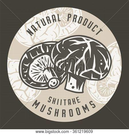 Autumn Forest Shiitake Mushroom Picking Vegan Menu