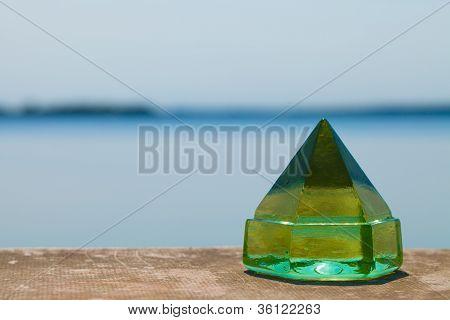 Green Deck Prism on Dock