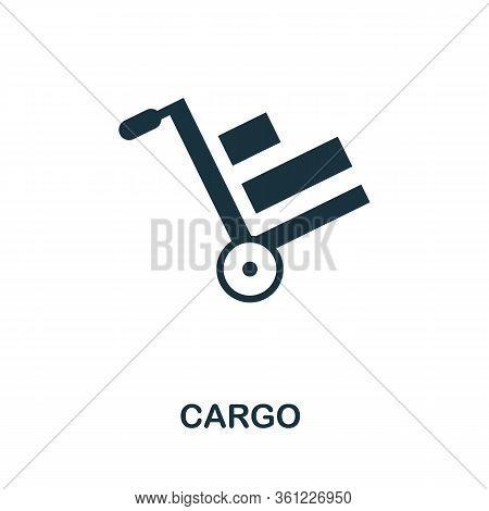 Cargo Icon. Simple Illustration From E-commerce Collection. Creative Cargo Icon For Web Design, Temp