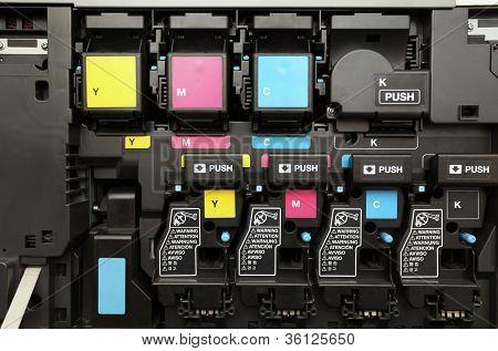 Cmyk Ink Cartridges For Laser Copier Machine