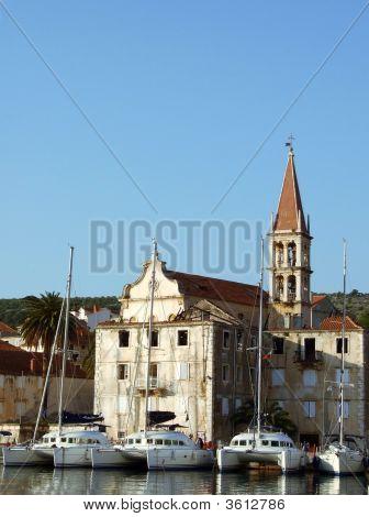 Marina In Milna Croatia