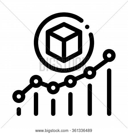 Parcel Pick-up Points Icon Vector. Parcel Pick-up Points Sign. Isolated Contour Symbol Illustration