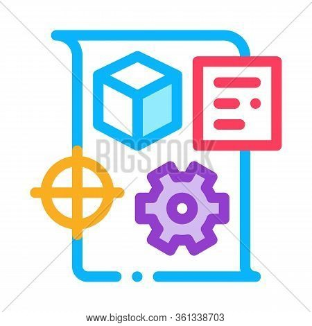 Technical Dispatch Icon Vector. Technical Dispatch Sign. Color Symbol Illustration
