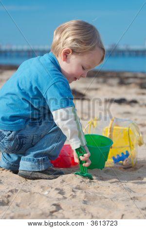 Beach Play.