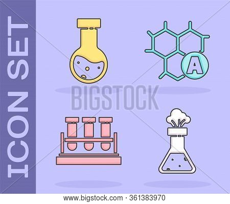 Set Test Tube And Flask Chemical, Test Tube And Flask Chemical, Test Tube And Flask Chemical And Che
