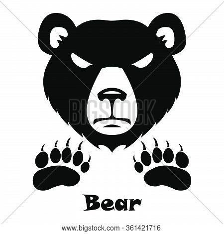 Bear - Brown Bear Icon - Traces Of A Bear - Trail Icon - Angry Bear
