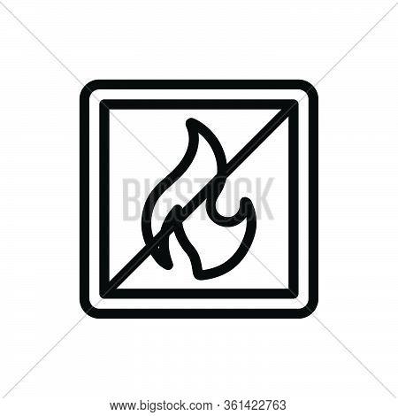 Not Allowed Icon For Website Design And Desktop Envelopment, Development. Premium Pack.