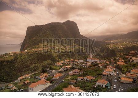 Portugal Madeira Faial Town