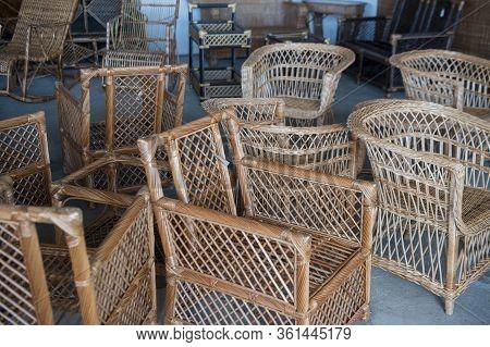 Portugal Madeira Camacha Basket Weave