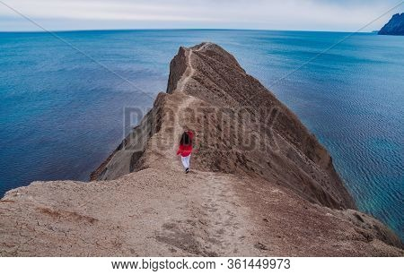 Cape Chameleon In Crimea, Russia. One Of The Beautiful Place In Crimea.
