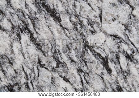 Closeup Brown,black With White Marble Stone Background. Black  With White Marble,quartz Texture. Wal