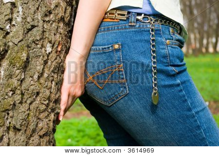 Overhead Part Of Jeans