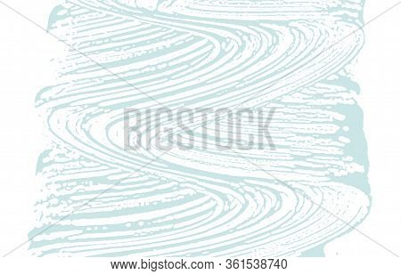 Grunge Texture. Distress Blue Rough Trace. Breathtaking Background. Noise Dirty Grunge Texture. Over