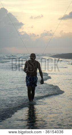 Seascape Sunset Walk