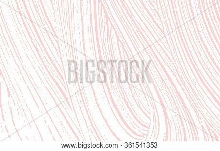 Grunge Texture. Distress Pink Rough Trace. Fantastic Background. Noise Dirty Grunge Texture. Unusual
