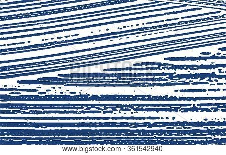 Grunge Texture. Distress Indigo Rough Trace. Exquisite Background. Noise Dirty Grunge Texture. Great