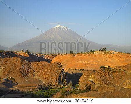 El Misti, The Volcano Of Peru