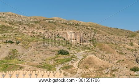 Persapolis, Iran - May 2019: Ruins Of Persapolis, The Capital Of Persian Empire Later Destroyed By A