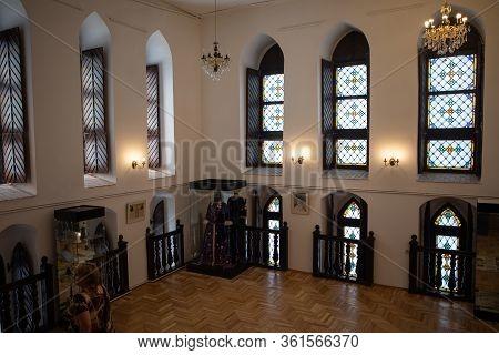Kaliningrad, Russia - June 20, 2019: Konigsberg Cathedral Interior. It Houses The Museum, Dedicated