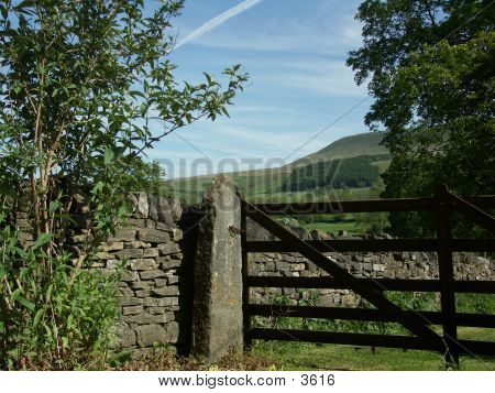 Gate At Pendle