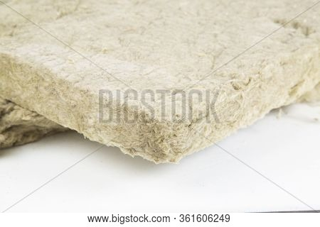 Insulation Material. Building Material For Home Insulation.
