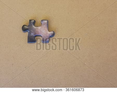 Piece Of An Incomplete Puzzle Jigsaw
