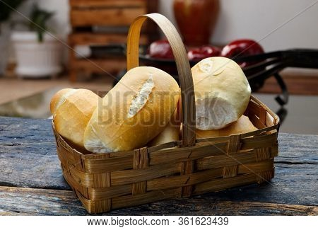 French bread food, pao frances