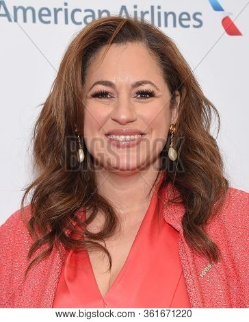 LOS ANGELES - MAR 08:  Kelly Vlahakis-Hanks arrives for the 8th Annual Women Making History Awards on March 08, 2020 in Los Angeles, CA