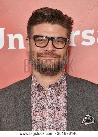 LOS ANGELES - JAN 11:  Jay R. Ferguson on the red carpet at the NBCUniversal Winter TCA 2020 on January 11, 2020 in Pasadena, CA