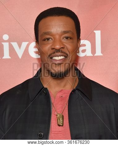 LOS ANGELES - JAN 11:  Russell Hornsby on the red carpet at the NBCUniversal Winter TCA 2020 on January 11, 2020 in Pasadena, CA