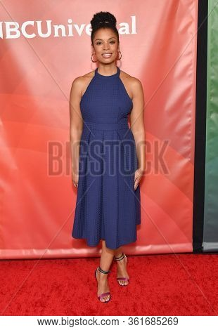 LOS ANGELES - JAN 11:  Susan Kelechi Watson on the red carpet at the NBCUniversal Winter TCA 2020 on January 11, 2020 in Pasadena, CA