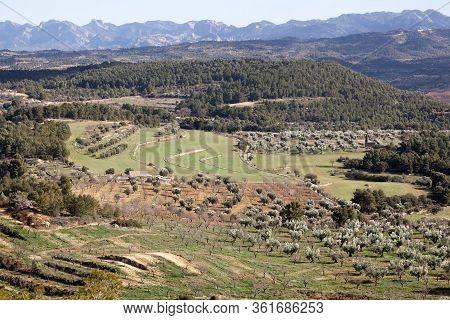 Los Ports Natural Park. Teruel Province. Spain