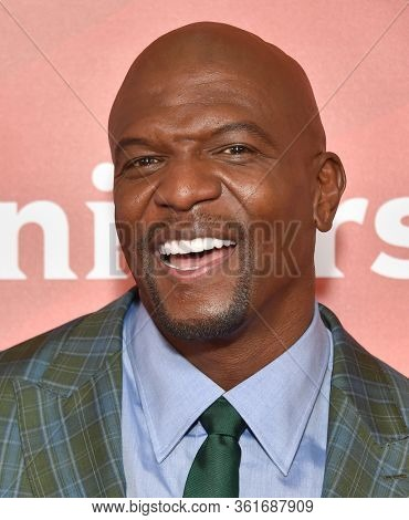 LOS ANGELES - JAN 11:  Terry Crews on the red carpet at the NBCUniversal Winter TCA 2020 on January 11, 2020 in Pasadena, CA