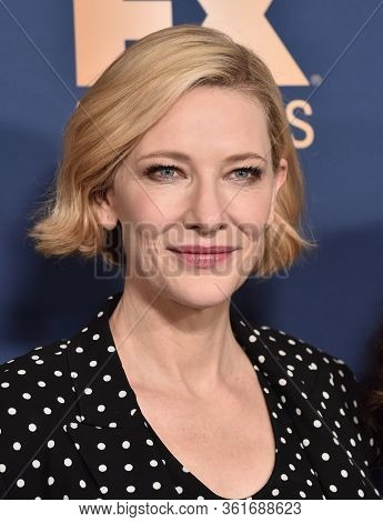 LOS ANGELES - JAN 09:  Cate Blanchett {Object} arrives for 'The Way Back' World Premiere on January 09, 2020 in Los Angeles, CA