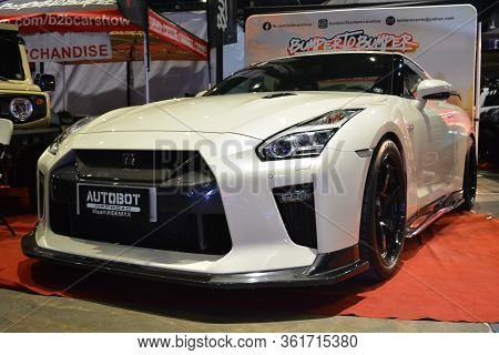 Pasay, Ph - July 28: Nissan Gtr At Bumper To Bumper Prime Car Show On July 28, 2019 In Pasay, Philip
