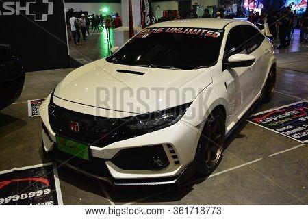 Pasay, Ph - July 28: Honda Civic At Bumper To Bumper Prime Car Show On July 28, 2019 In Pasay, Phili