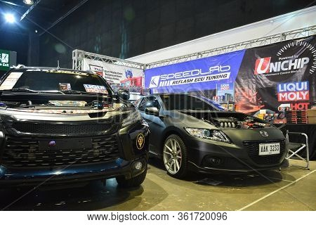 Pasay, Ph - July 28: Unichip Booth At Bumper To Bumper Prime Car Show On July 28, 2019 In Pasay, Phi