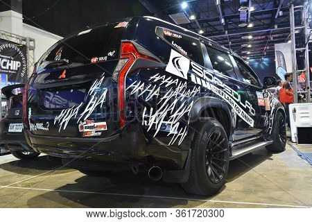 Pasay, Ph - July 28: Mitsubishi Montero At Bumper To Bumper Prime Car Show On July 28, 2019 In Pasay