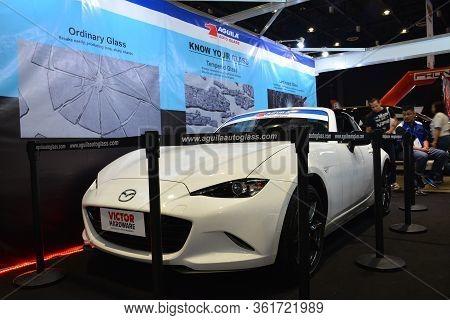 Pasay, Ph - July 28: Mazda Miata At Bumper To Bumper Prime Car Show On July 28, 2019 In Pasay, Phili