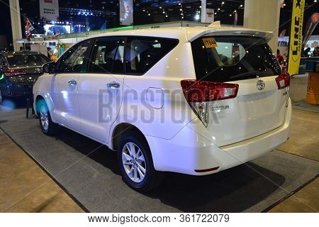 Pasay, Ph - July 28: Toyota Innova At Bumper To Bumper Prime Car Show On July 28, 2019 In Pasay, Phi