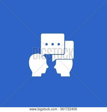 Debate, Dialogue Icon, Eps 10 File, Easy To Edit