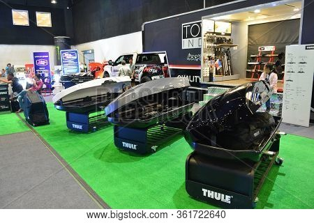 Pasay, Ph - July 28: Thule Shell Product Display At Bumper To Bumper Prime Car Show On July 28, 2019