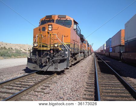Freight Trains Coming and Going