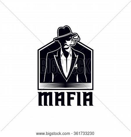 Mafia Vector Illustration For Your Company Or Brand