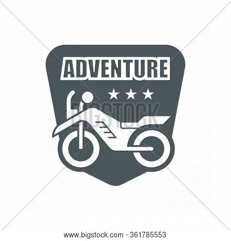 Off-road Vehicle Vector Icon Design On White Background.