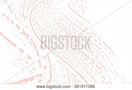 Grunge Texture. Distress Pink Rough Trace. Favorable Background. Noise Dirty Grunge Texture. Majesti