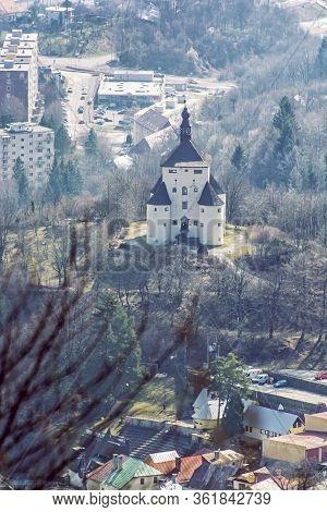 New Castle In Banska Stiavnica, Slovak Republic. Travel Destination. Cultural Heritage.