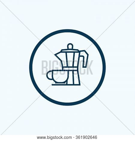 Coffee Break Icon Isolated On White Background From Workplace Collection. Coffee Break Icon Trendy A